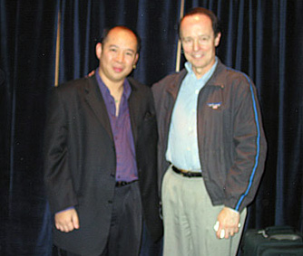 Anderson Chow with his Chavez mentor, Dale Salwak